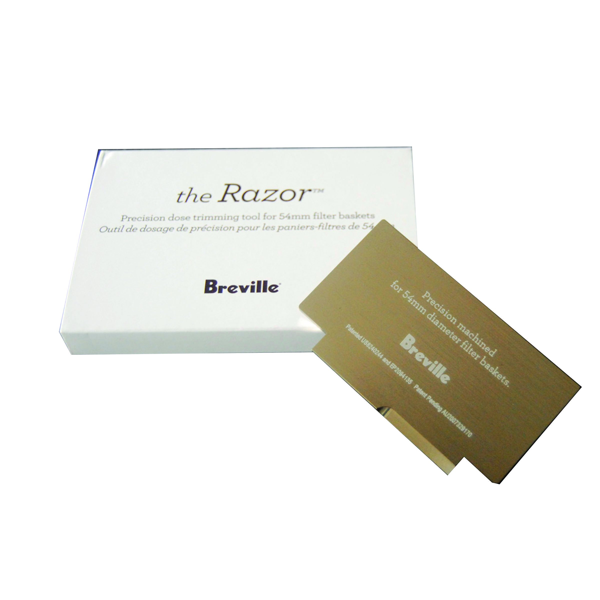 Breville The Razor Precision Dose Trimming Tool For 54mm Filter Baskets