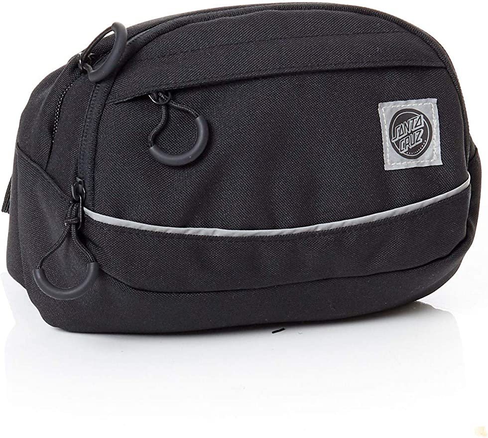 1.8 Litre Hip Bag Default, Black Santa Cruz Black Pusher