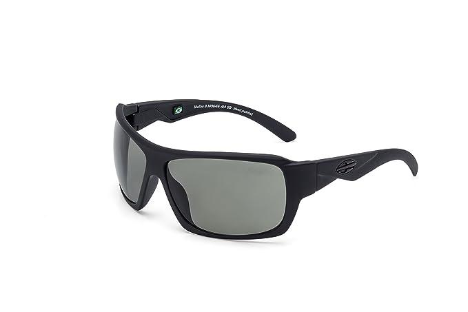 Gafas de Sol Malibu 2017 negro mate con lentes polarizado: Amazon.es: Ropa y accesorios