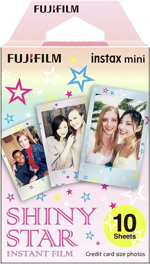Fujifilm 16404193 - Colorfilm instax mini Star WW 1, película fotográfica instantánea (10 hojas per pack), estrellas: Amazon.es: Electrónica