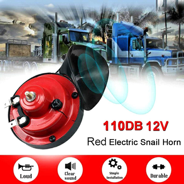 #1 Elibeauty 110DB Super Train Horn For Motorcycles electric car Trucks SUV Car Boat Mono New 12V US