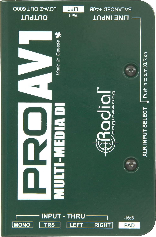 Radial Engineering R8001112 Pro AV1 Direct Box