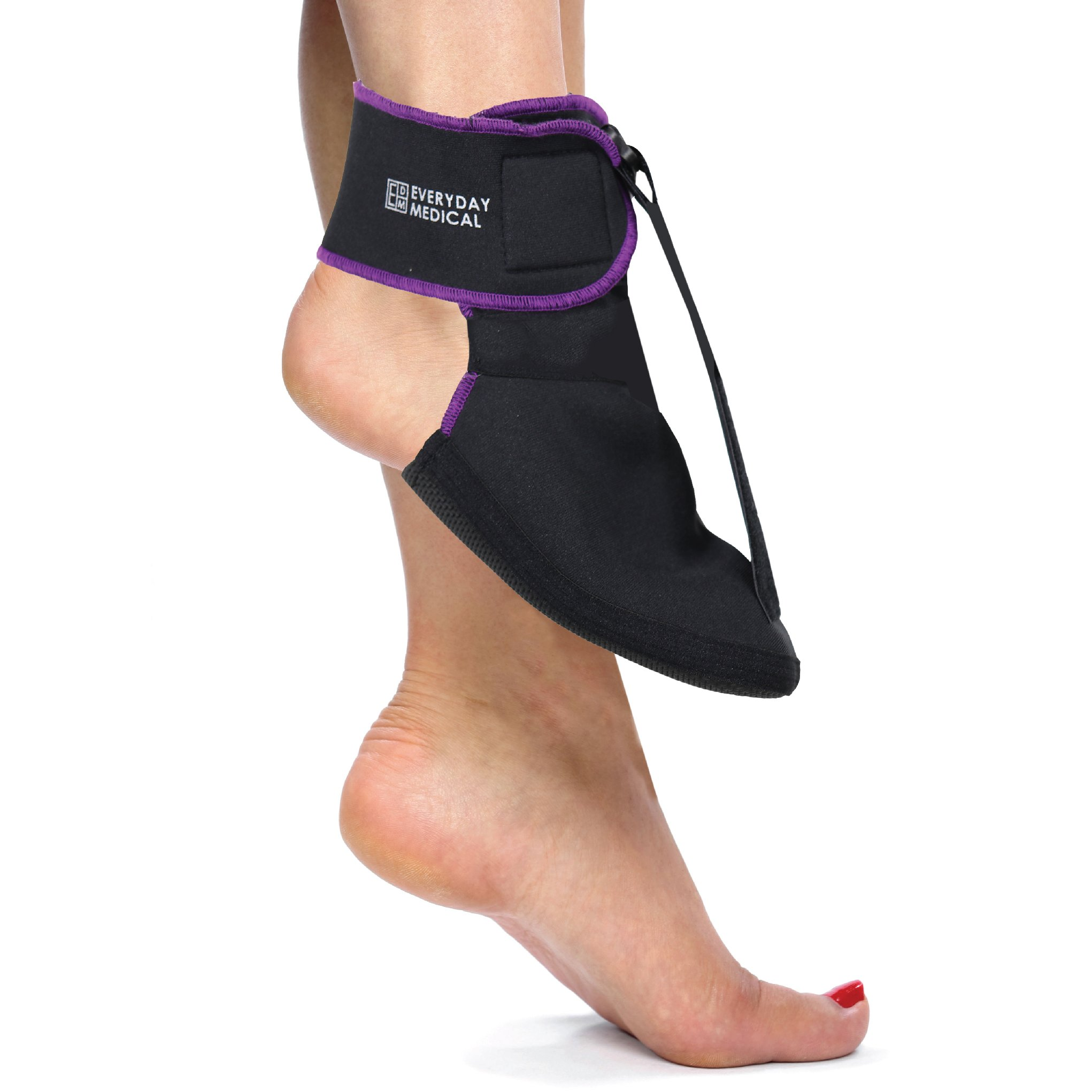 Everyday Medical Plantar Fasciitis Soft-Stretching Night Splint Sock l Plantar Fascia Night Splint l Relief from Achilles Tendonitis, Arch Foot and Heel Pain for Men & Women (Medium) by Everyday Medical