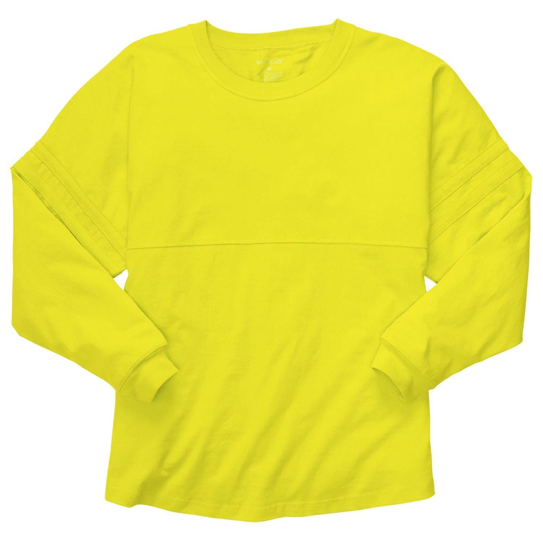 Bundle: Boxercraft Pom Pom Jersey & HTC Garment Guide, Lemon Yellow-L