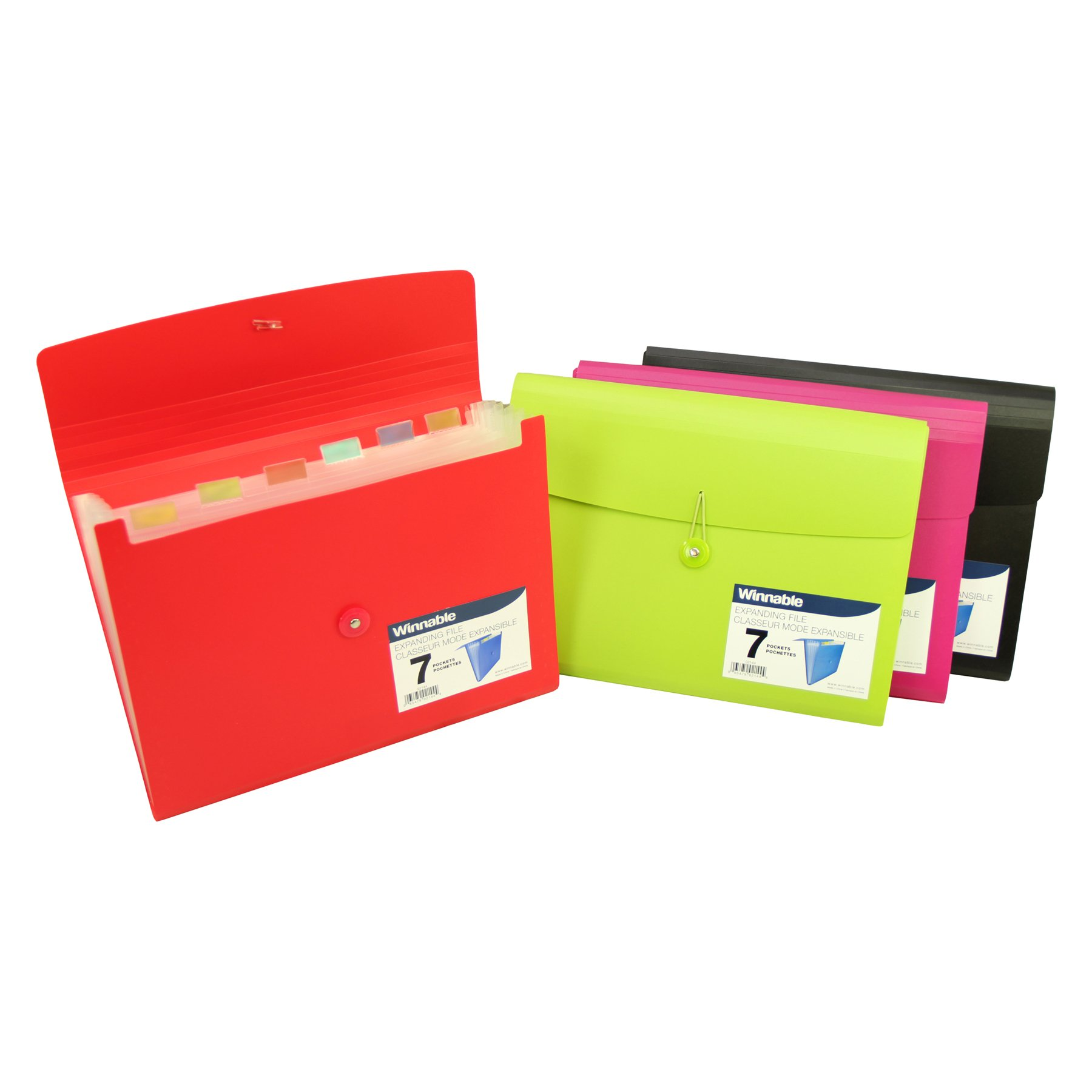 Roaring Spring Poly Expanding File with 7 Pockets
