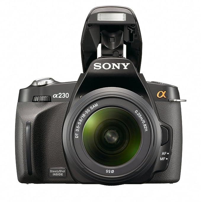 Sony DSLR-A230 + DT 18-55mm - Cámara digital (auto, Nublado, Luz ...