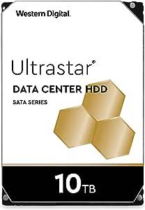 "HGST Ultrastar He10 | HUH721010ALE604 | 0F27473 | 512e | 2.5M MTBF | 10TB SATA 6.0Gb/s 7200 RPM 256MB Cache 3.5"" | Helium Platform Enterprise Hard Disk Drive"