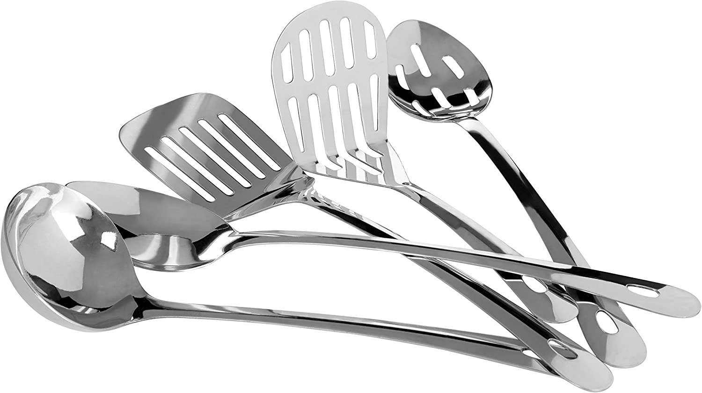 Premier Housewares color negro 5 piezas Juego de utensilios de cocina
