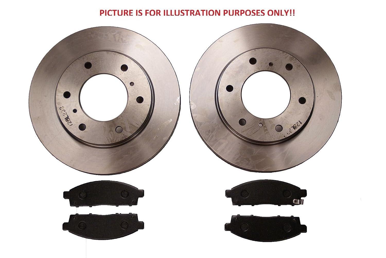 L200 K74 2.5TD Front Brake Discs+Pads 06/2001> 312mm TWIN PISTON AFTERMARKET