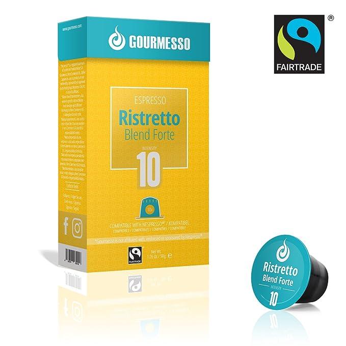 Gourmesso Ristretto Blend Forte (100 Capsulas)