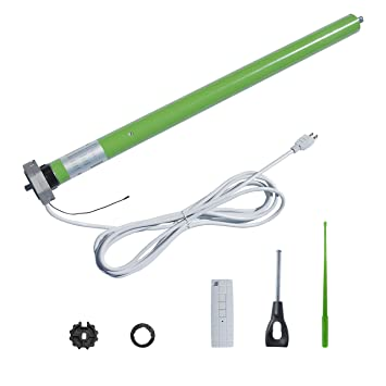 ALEKO AC Tubular Motor DM45RM For Retractable Patio Awning