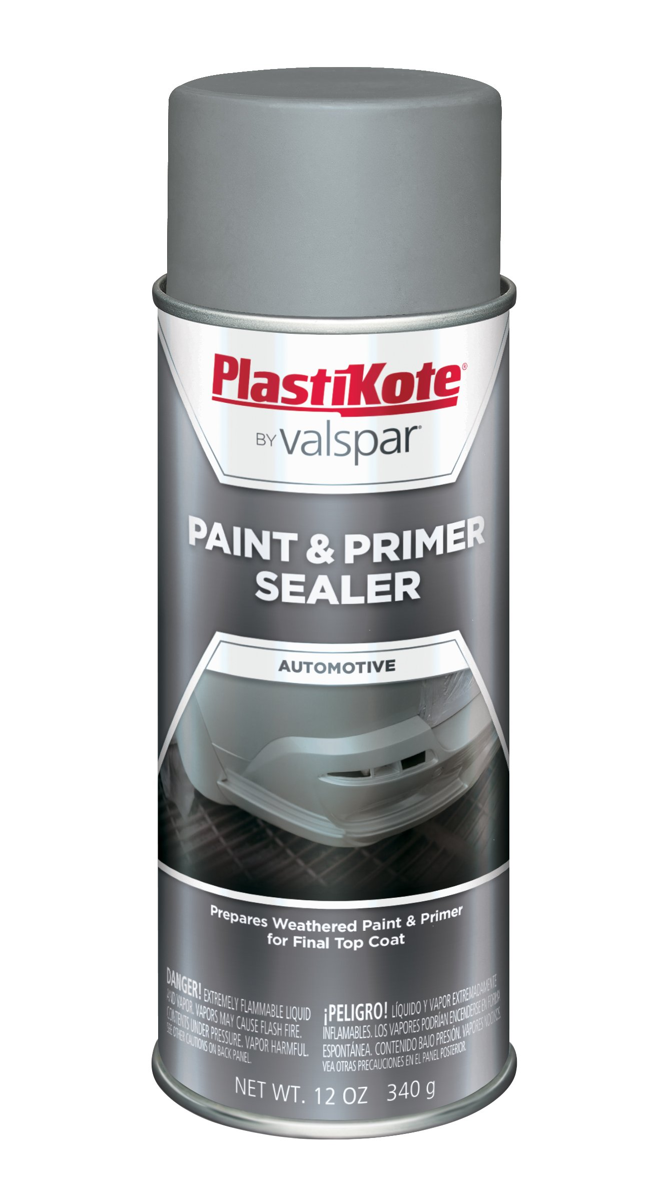 PlastiKote 468 Paint and Primer Sealer - 12 Oz. by PlastiKote