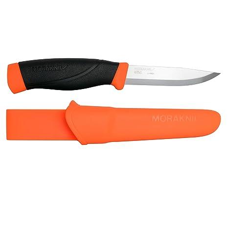 Mora FT01603 Cuchillo a Lama Fissa,Unisex - Adultos, Orange, un tamaño