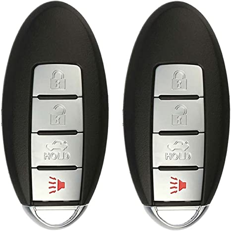 Key Fob Replacement >> Keylessoption Keyless Entry Remote Control Car Smart Key Fob Replacement For Kr55wk48903 Kr55wk49622 Pack Of 2