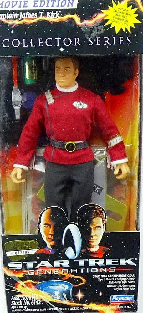 Star Trek Generations Collector Series Captain James T. Kirk