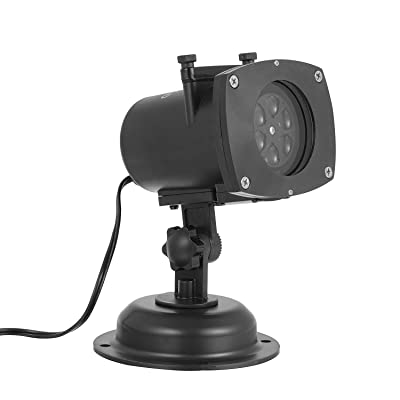 OxyLED PL101 Colorized Auto Moving Projection Lights With 12 Replaceable Lens