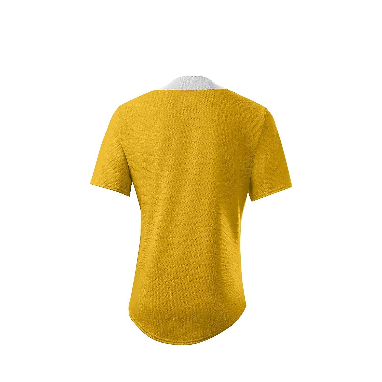 Light Gold Medium EvoShiled Youth E203 2-Button Jersey