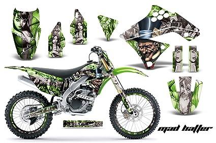 Amazon com: Kawasaki KXF250 2009-2012 MX Dirt Bike Graphic Kit