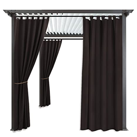 RYB HOME Indoor Outdoor Curtains