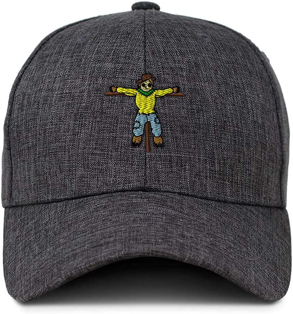 Custom Baseball Cap Scarecrow Full Body Style D Embroidery Acrylic Strap Closure