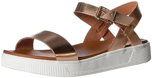 ae659c97a5e MIA Womens Abby Flat Sandal  Amazon.ca  Shoes   Handbags