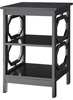 convenience concepts omega end table black