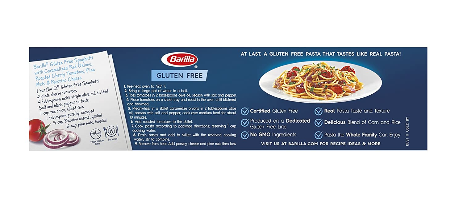 Pasta sin gluten Barilla: Amazon.com: Grocery & Gourmet Food