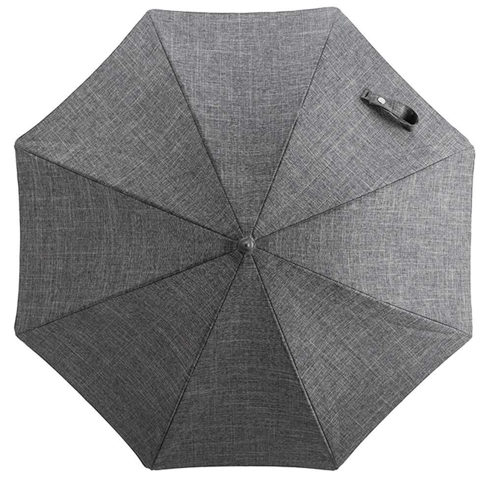 Sonnenschirm Schwarz Melange für Stokke® Kinderwagen Stokke® Stroller Black Parasol