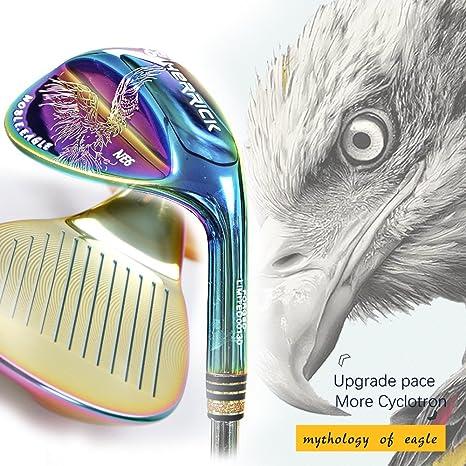 Palos de golf para diestros acero multicolor cuña 50/52/56 ...