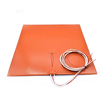 Almohadilla calefactora de cama de silicona Flexible impermeable ...
