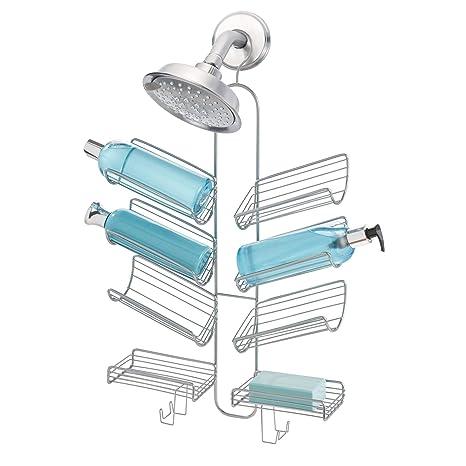 Amazon.com: InterDesign Verona - Organizador de ducha para ...