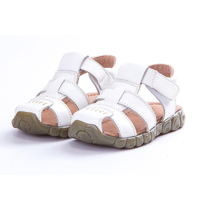 9e37693c03f YASSON Sandales Bébé Garçon en Cuir Été Enfants Chaussure Été Plat  Chaussures Tongs Antidérapant  Amazon.fr  Chaussures et Sacs