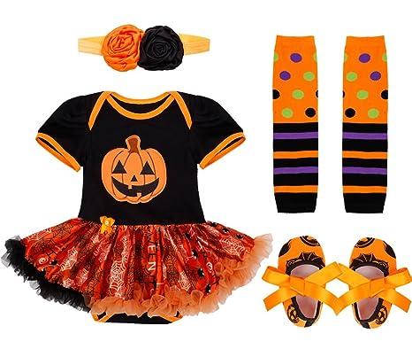 Chictry Infant Baby Girls 1st Halloween Costume Princess Tutu Dress