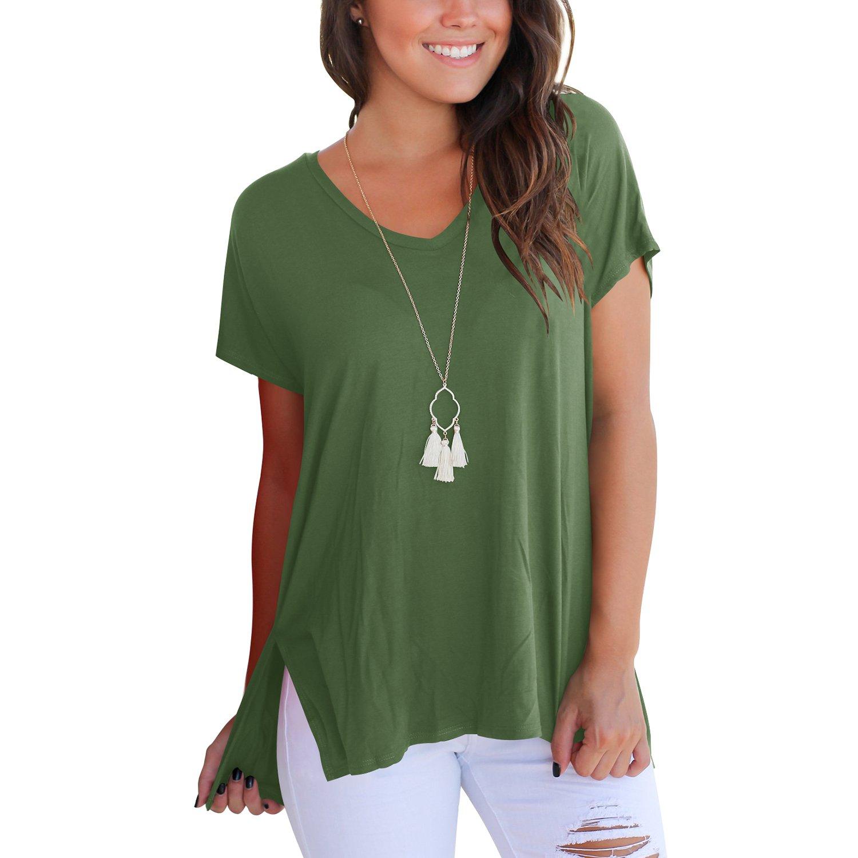 10cab9b70d357 Top 10 wholesale Split V Neck T Shirts - Chinabrands.com