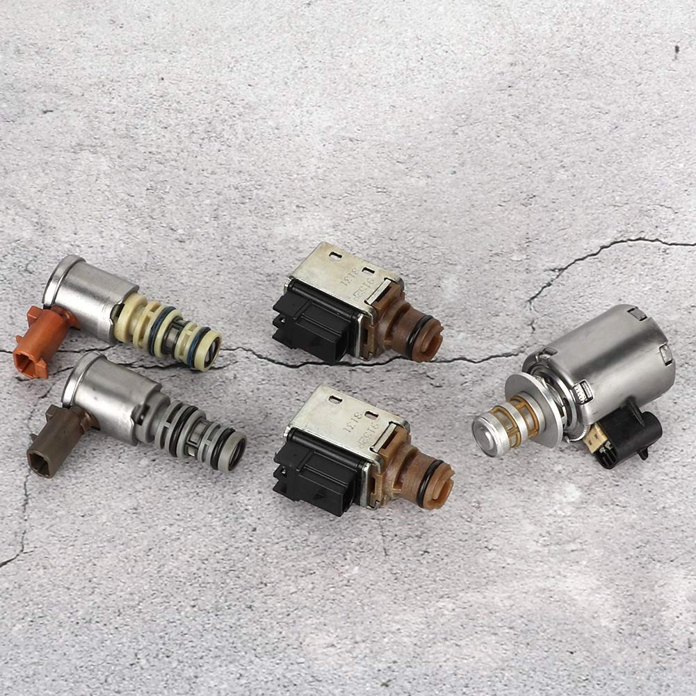 Shift Solenoid 5PCS A /& B Transmission Shift Solenoid EPC TCC Solenoid for GM 4L60E Model Automatic Transmission