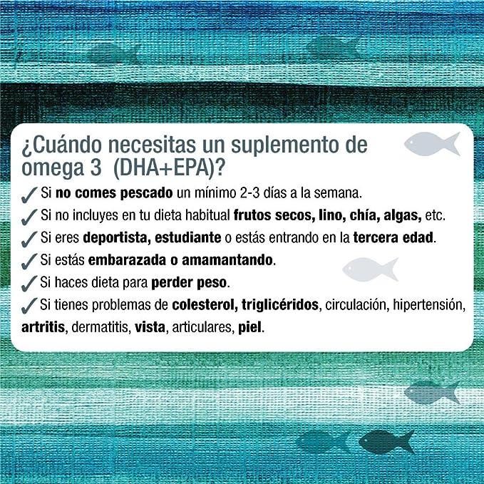 Bote de perlas Omega 3 + EPA de Santiveri (79 gr ...