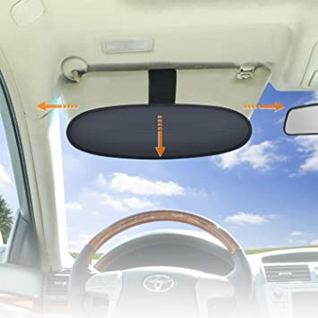 Amazon.com  WANPOOL Anti-Glare Car Visor Sunshade Extender for Drivers or  Front Seat Passengers 18376934487