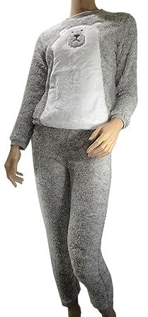 belles chaussures qualité authentique vente pas cher Pyjama femme hiver PILOU Chaud & Douillet ( Ref Léna© )