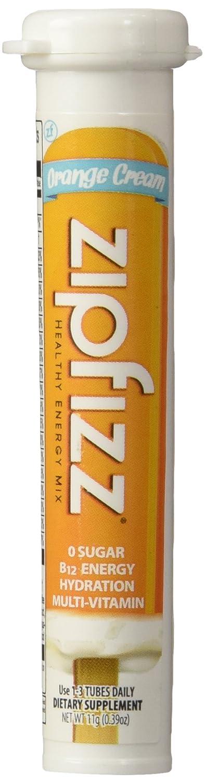 Zipfizz Orange Cream Healthy Energy Drink Mix - Transform Your Water Into a Healthy Energy Drink - 30 Orange Cream Tubes