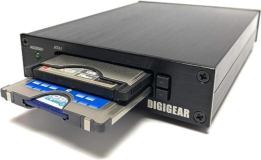 Digigear Compact Flash CF to PCMCIA PC Memory Card Adapter Reader (ATA Flash/UDMA)