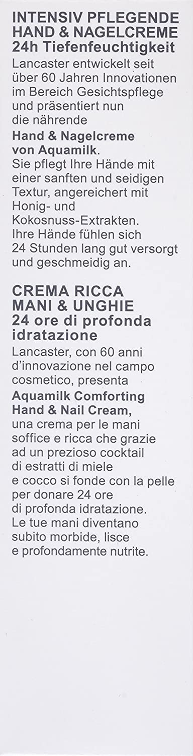 Lancaster - Aquamilk - Crema de manos - 75 ml: Amazon.es: Belleza