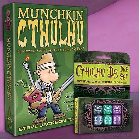 Munchkin Cthulhu + Cthulhu d6 Juego de Dados: Amazon.es: Juguetes y juegos