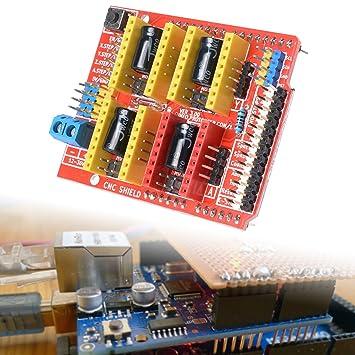 XCSOURCE® Placa de Expansión para Arduino A4988 V3 para ...