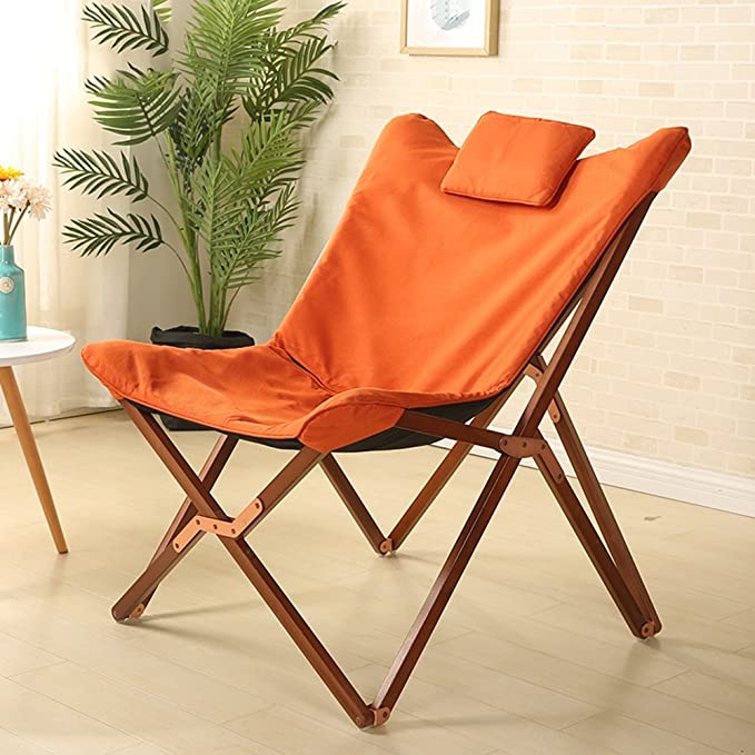 Amazon.com: ZXQZ Solid Wood Simple Folding Chair/Office ...