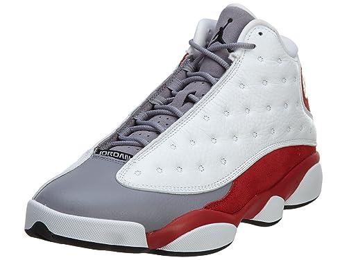 cheap for discount 50f80 25e69 Nike Air Jordan 13 Retro White Grey Red 8