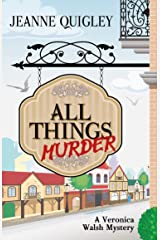 All Things Murder (Veronica Walsh Mystyery: Wheeler Publishing Large Print Cozy Mystery) Paperback