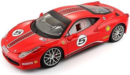 Buy Bburago Ferrari 458 Challenge 1 24 Toy Car Online At Low Prices
