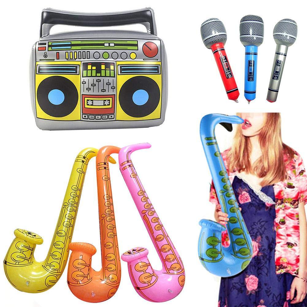 Blue Banana Radio Ochentera Inflable - Gris: Amazon.es: Juguetes y ...