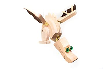 Amazoncom Wupper Airlines Wooden Hanging Mobile Natural Dragon