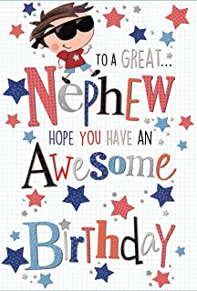 Special Nephew Birthday Greeting Card Second Nature Just To Say